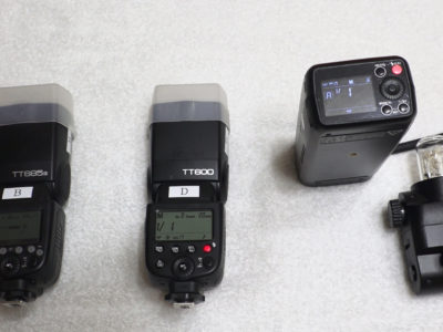 Godoxストロボ AD200とTT685 TT600の比較